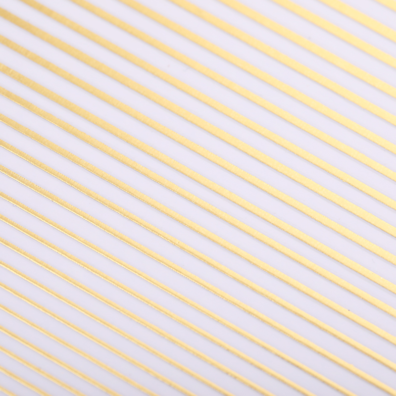 3D Nail Sticker Decals Stripe Line Nails Adhesive Stickers Rose Gold Color Striping Tape DIY Nail Art Decoration Design in Stickers Decals from Beauty Health