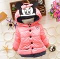 JW-067 Varejo 2015 crianças crianças casacos roupa dos miúdos casacos crianças meninas casaco de inverno meninas jaqueta de roupas frete grátis