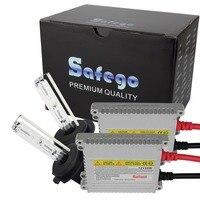 Safego Silver color block ballast auto lamp h7 socket white color 6000K 8000K hid kit xenon hid h7 4300k single beam xenon kit