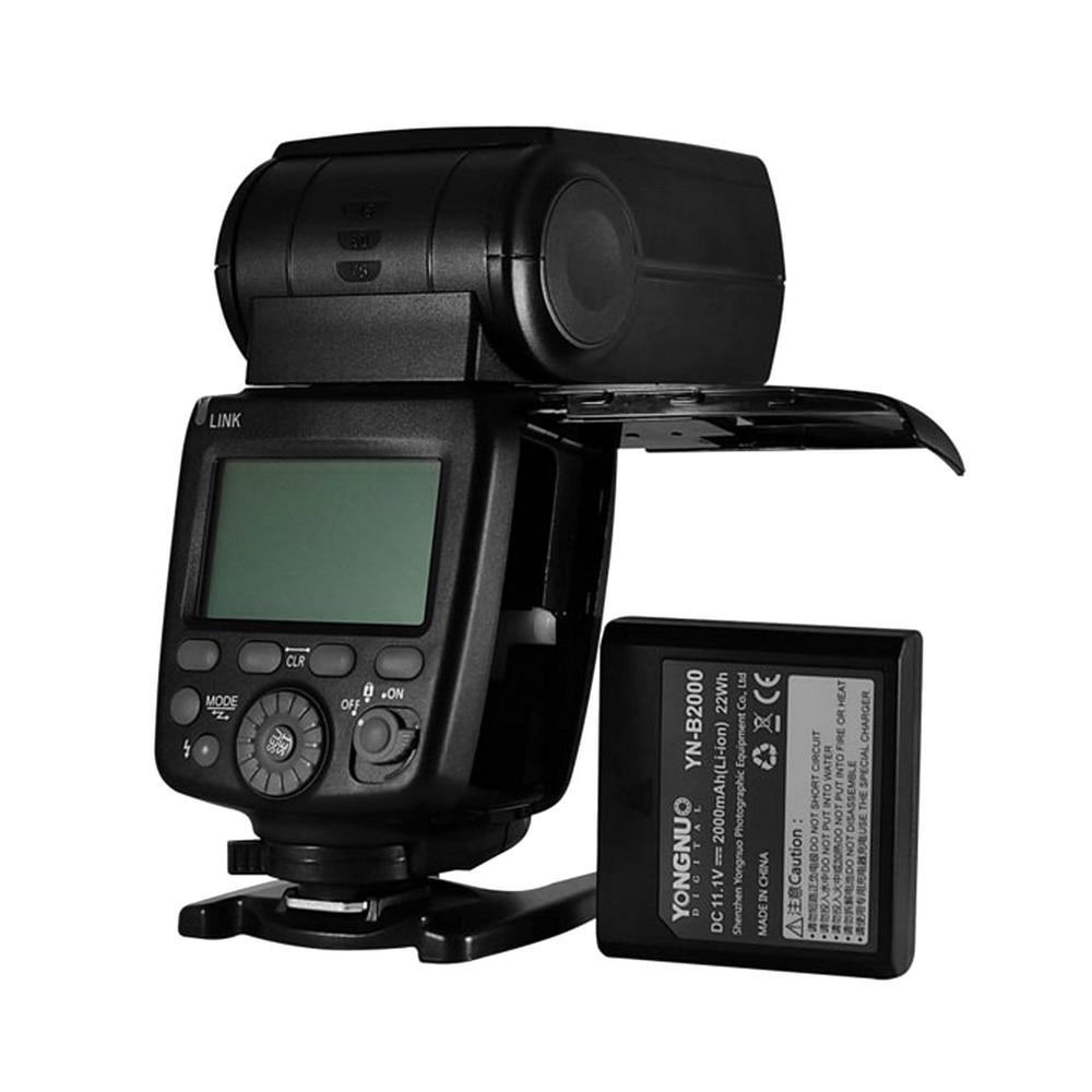 2018 Newest YONGNUO YN720 Lithium Battery Speedlight Speedlite Flash with Li-ion Battery battery for Canon Nikon Pentax