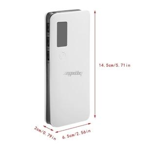 Image 5 - 3 portas usb 5x18650 diy titular da bateria portátil display lcd caso caixa de banco de potência whosale & dropship
