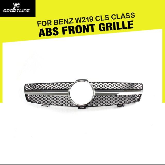 W219 CLS-Classe ABS Car Malha Grille Grills Para Benz W219 CLS Class 4-Door Sedan 2004-2007