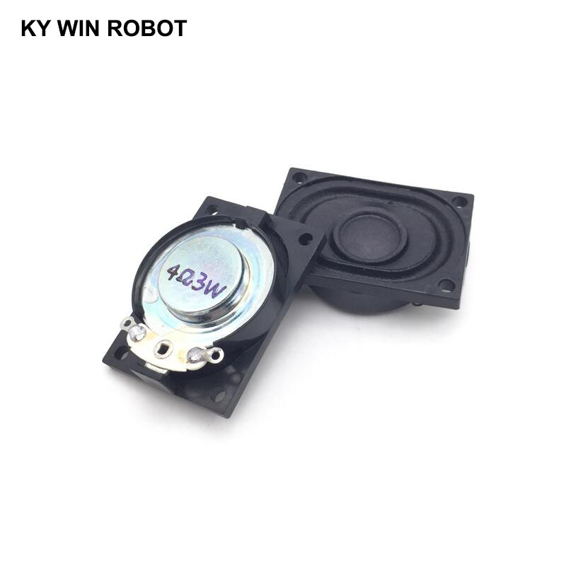 2PCS Lot LCD Monitor TV Speaker Horn 3W 4R 4028 2840 Loud speaker 4 ohms 3 Watt 4R 3W 40 28MM in Acoustic Components from Electronic Components Supplies
