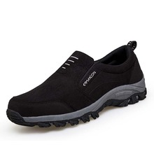 Fotwear Men outdoor Slip on Sneaker Casual Climbing Hiking shoes Lightweight and fashion style Good quality for couples walking