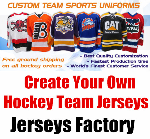 Create Your Team - Custom ICE Hockey Jerseys Replica Home Away Mens Woman Kid Youth Vintage Jersey USA CANADA Australia alleson 506sy youth volleyball jerseys