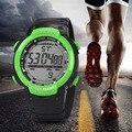 Do Menino Dos Homens de moda À Prova D' Água Digital LCD Cronômetro Data de Borracha Relógio de Pulso Esporte Casual Relógios de Quartzo