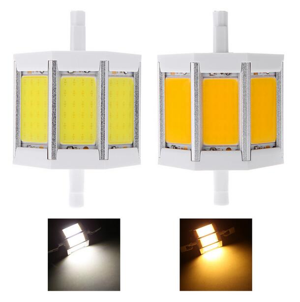 Dimmable r7s cob led bulb r7s led lights 78mm 118mm 10w for R7s led 118mm 20w