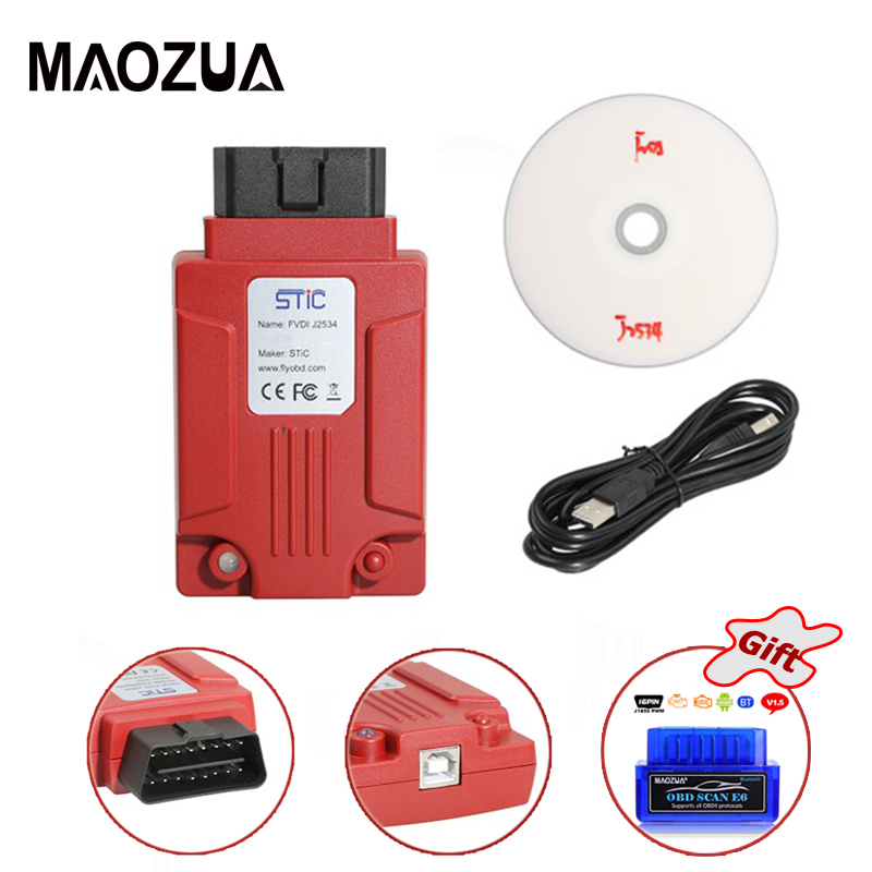 US $187 78 |2018 Newest Original FVDI J2534 for M azda Online Module Key  Programming Tool for F o r d IDS Forscan with ELM327 as Gift-in Car