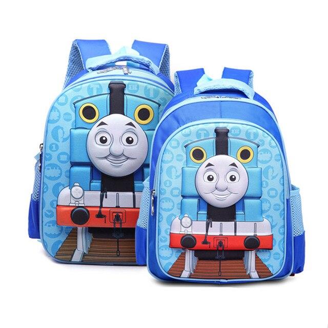Baby Boys Thomas Train School Bag Kids 3d Pattern Backpacks Kindergarten Cartoon Shoulder Bags