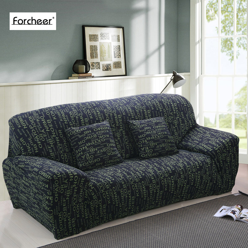 Sofa Slipcover Tight Wrap All Inclusive Slip Resistant Sectional Elastic Full Corner Sofa Cover