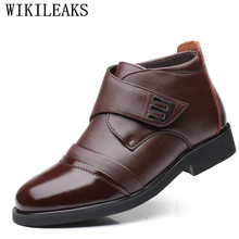 2019 Luxury Brand Genuine Leather Men Boots Autumn Winter Ankle Boots Fashion Casual Footwear Shoes High Quality Men Snow Boots xper brand genuine leather men shoes autumn winter men boots 100