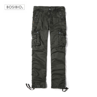 2017 Plus Size High Quality SpringStyle Khaki Dark Grey Mens Pants Casual Pants Men Joggers Pants
