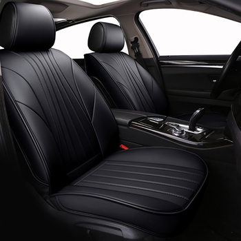 ( Front + Rear ) Special Leather car seat covers For Mazda 3 6 2 C5 CX-5 CX7 323 626 Axela Familia car automobiles accessories