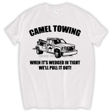 0cf7c5a8a Camel Towing Mens T-Shirt Tee Funny Tshirt Tow Service Toe College Humor  Cool MALE