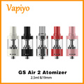 2016 Original Eleaf GS Air 2 Atomizer 2.5ml 19mm Air inflow Adjustable Clearomizer Fit for Eleaf iJust Start 5 colors in stock