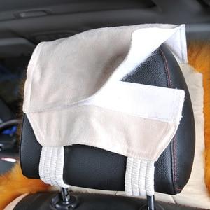 Image 4 - אוסטרלי טהור טבעי צמר מושב כיסוי עבור קדמי מושב חורף כרית מכונית באיכות גבוהה 100% אמיתי צמר כבש מושב מכסה