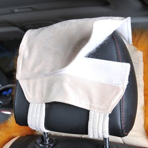 Image 4 - Australian Pure Natural Wool Seat Cover For Front Seat Winter Car Cushion High Quality 100% Genuine Wool Sheepskin Seat Covers