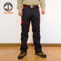 Mens Cargo Pants Army Combat Work Trousers Casual Multi Pockets Pant Military Tactical Pants Bi Color