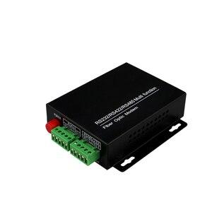 Image 3 - Rs485/422/rs232 multi porta da fibra do modem fc da fibra ótica da função 20km conversor rs485/422 da fibra ao conversor da fibra dos ethernet