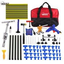 WHDZ PDR Dent Repair Tool set Slide Hammer Line board Dent Puller glue gun auto body repair tools Dent removal tool kit