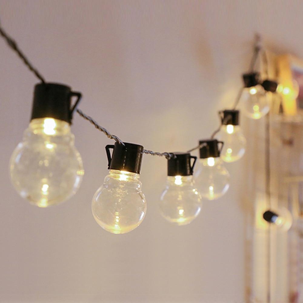 EU US 6M 20 LED String Light Outdoor Fairy Lights Garland