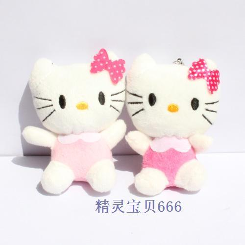Wholesale Freeshipping  randomly color sent Cartoon bouquet material kt cat HELLO KITTY hello kitty plush toy doll PT3009