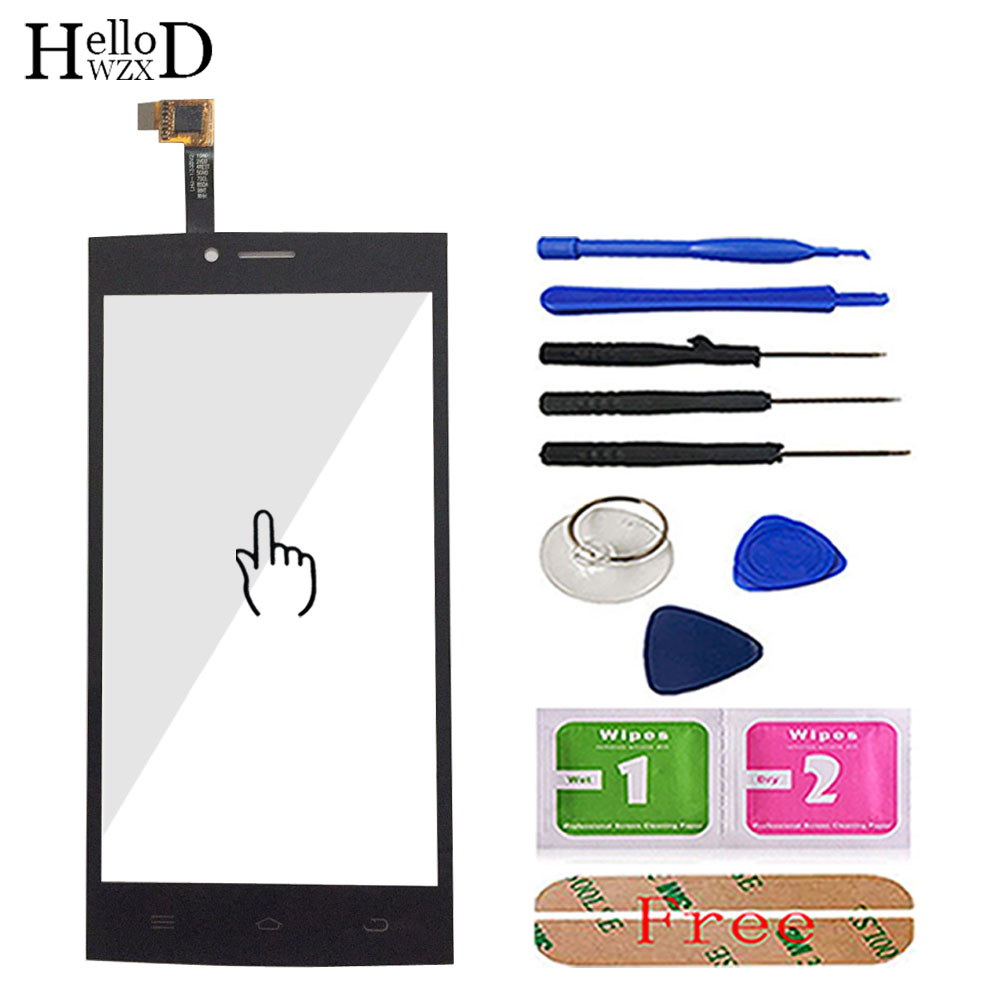 Touch Screen Glass For THL T6 T6S T6C T6 Pro Touch Screen Glass Digitizer Panel Front Glass Mobile Phone Sensor Tools Adhesive