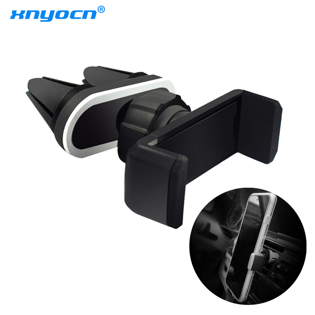 Universal Car Air Vent Double Mount Clip Smartphone Holder Holder Stand Cradle for IPhone Samsung LG Xiaomi Huawei Cell Phones