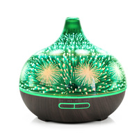 3D Fireworks Heart Reindeer LED Night Light Ultrasonic Humidifier Home Aroma Essential Oil Diffuser Air Diffuser Humidifier Gift