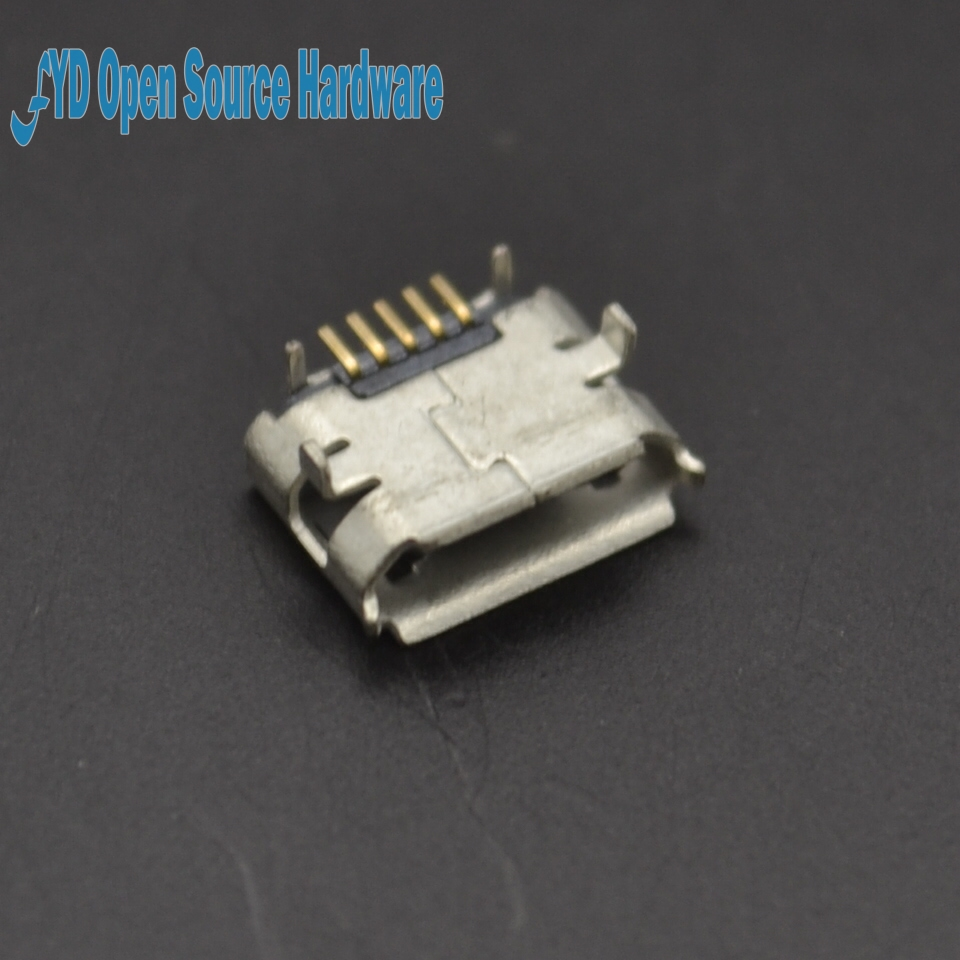 (DIP) Copper MicroUSB Socket MK5P Microphone 5P MINIUSB Micro 5PIN  10PCS/LOT(DIP) Copper MicroUSB Socket MK5P Microphone 5P MINIUSB Micro 5PIN  10PCS/LOT