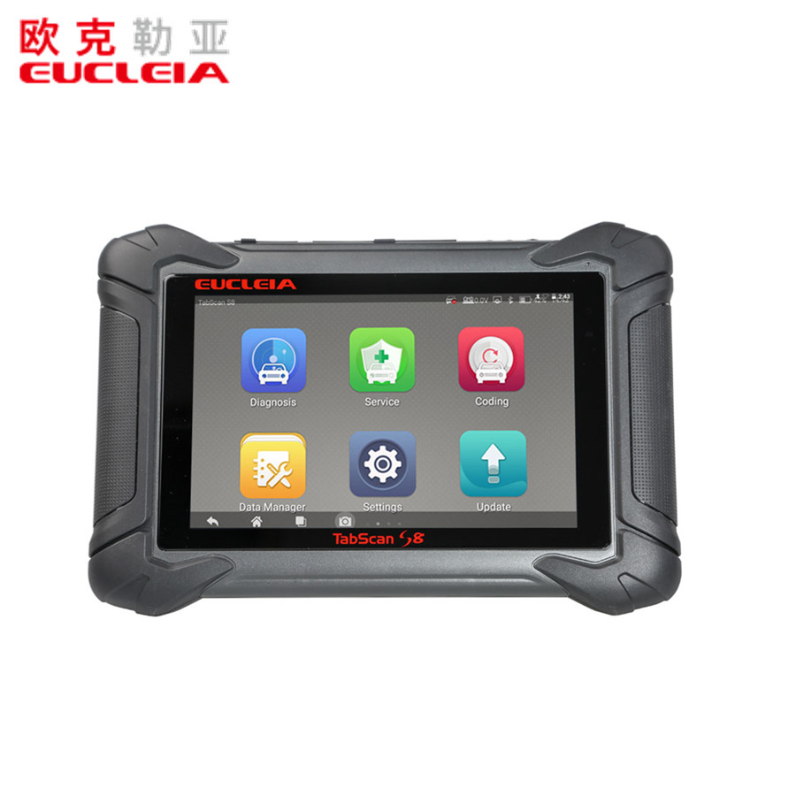 EUCLEIA TabScan S8 Automotive Intelligent Dual-mode Diagnostic System Free Update Online for 18 Months Pakistan