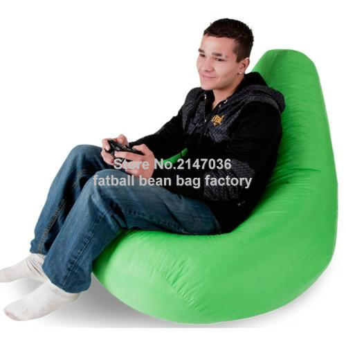 MAN s gaming bean bag living room chair outdoor adults beanbag sofa beds high back folding