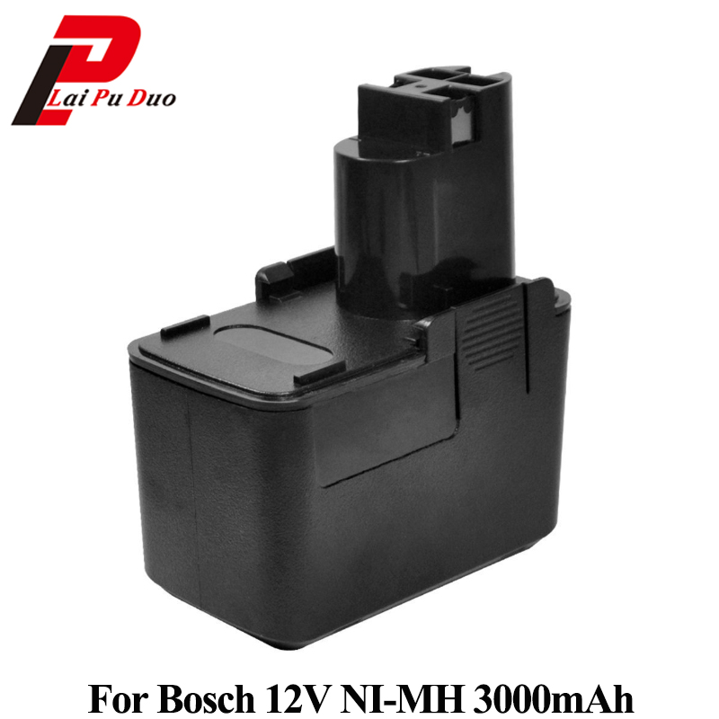 Replacement Power Tool Battery 3.0Ah 12V Ni-MH For Bosch:2607335055,BH1214H,3500,B2310,2607335081,3310kReplacement Power Tool Battery 3.0Ah 12V Ni-MH For Bosch:2607335055,BH1214H,3500,B2310,2607335081,3310k