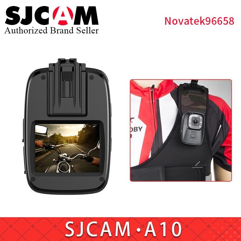 Ehrlichkeit Sjcam A10 Körper Tragbare Cam Infrarot Sicherheit Tragbare Kamera Ir-cut Night Vision Laser Positionierung Action Cam 2650 Mah Batterie Gute WäRmeerhaltung Unterhaltungselektronik