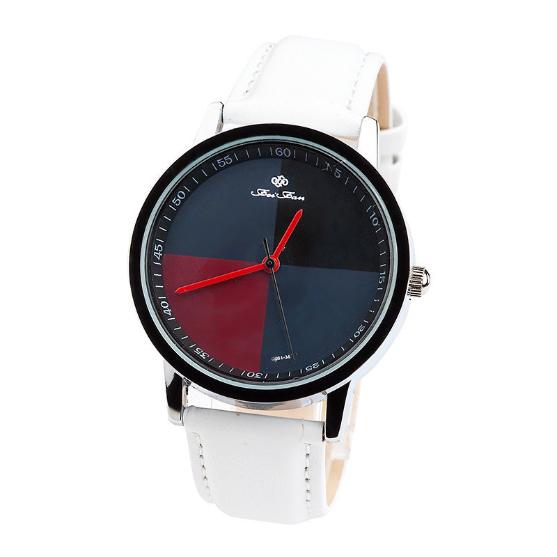 New 2018 Fashion Quartz Watch 1/4 scale Dial Casual wristwatch Simple Leather Strap Dress Watch women clock hours drop shopping new 2018 luxury brand simple pink dial women casual wristwatch ladies leather quartz watch female elegant dress clock hours