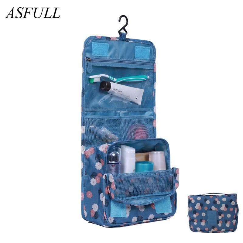 ASFULL Utile di Nuovo Modo Borse Da Toilette Cosmetici Sacchetto di Lavaggio Borse, borsa Da Viaggio Viaggio D'affari Accessori Da Viaggio Impermeabile uso del bagno