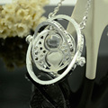 Fashion hot sale classic Harry Potter Hermione Granger Time converter color mixing necklace pendant for friend gift NN003
