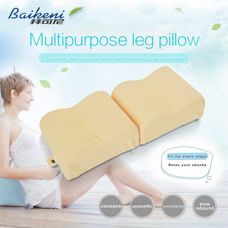 Neuer Memory Foam Knie Kissen Schwangere Für Frauen Outdoor reisekissen Beinauflage Kissen Bett Schlafen Kissen Almohada