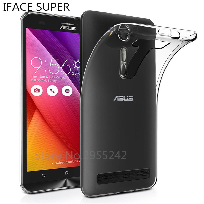 For <font><b>Asus</b></font> <font><b>Zenfone</b></font> <font><b>2</b></font> Laser ZE550KL Case Soft Silicone Transparent TPU Phone Case For <font><b>ASUS</b></font> Z00LD <font><b>Zenfone</b></font> <font><b>2</b></font> laser ZE550KL ZE <font><b>550KL</b></font> image