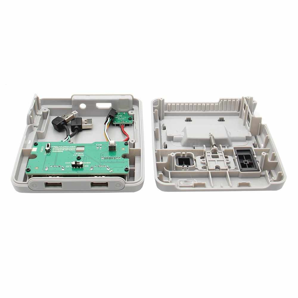 Retroflag SUPERPi Case NESPi Console JCase w/ USB Controller  Gamepad+Heatsinks+ Fan Kit for Raspberry Pi 3 Model B+(plus), 3B