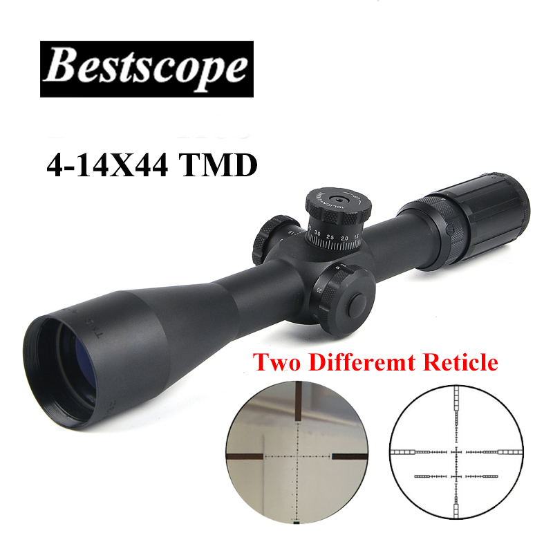 Tactical TMD 4-14X44 FFP Hunting Riflescope First Focal Plane Glass Mil Dot Reticle Hunting Scope Sniper Scope Tactical Rifle tactical 3 5 14x44 rifle scope front retical scope for hunting shooting cl1 0226