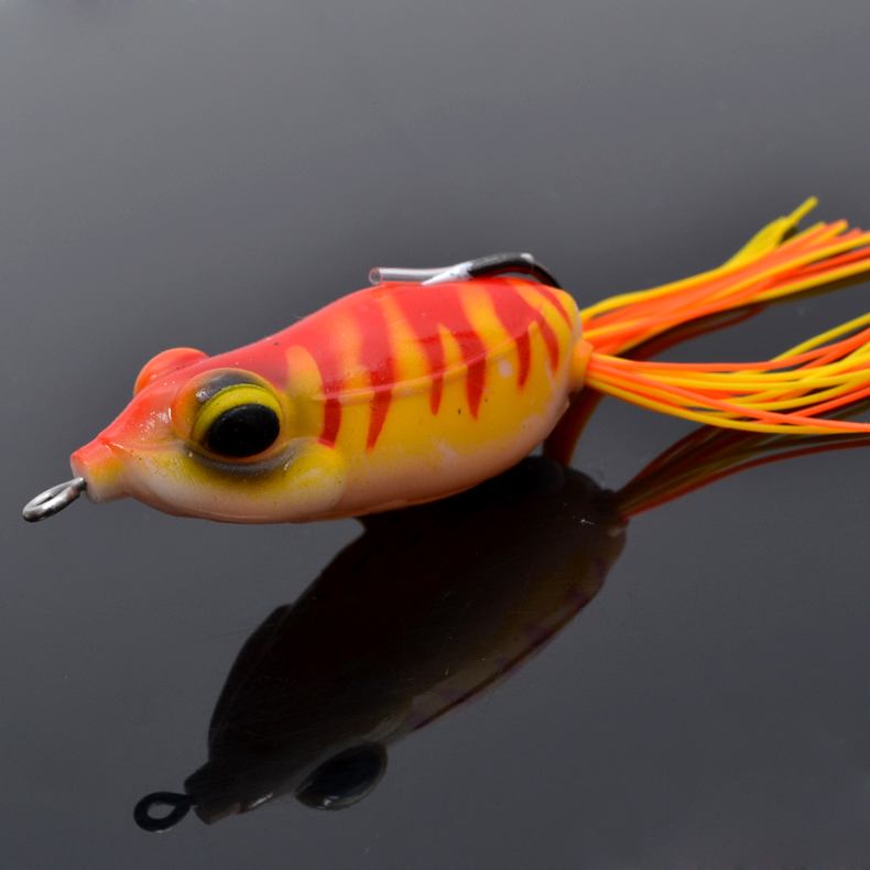 Trulinoya frog fishing lure soft baits bass for Frog lures for bass fishing