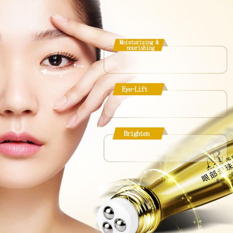 Roll-on Eye Cream Moisturizer Anti-Dark Circle Wrinkle Firming Maquiagem Moisturizing Fashion Make Up Maquillaje Beauty 1