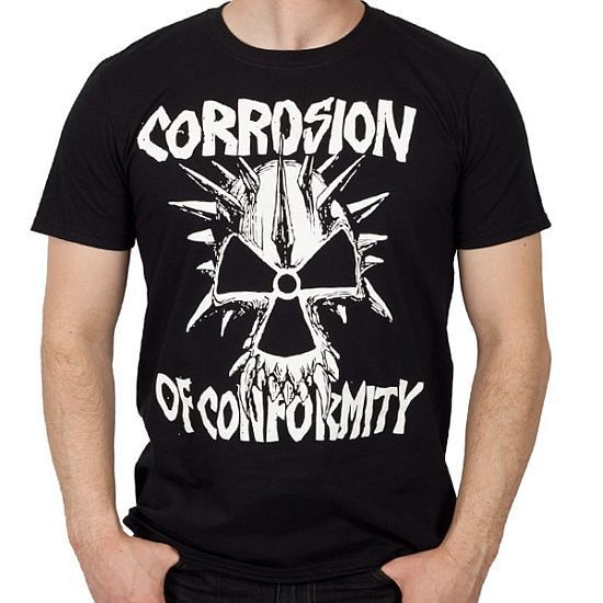 Corrosion of conformity old school logo shirt s xxl new for Group t shirts cheap