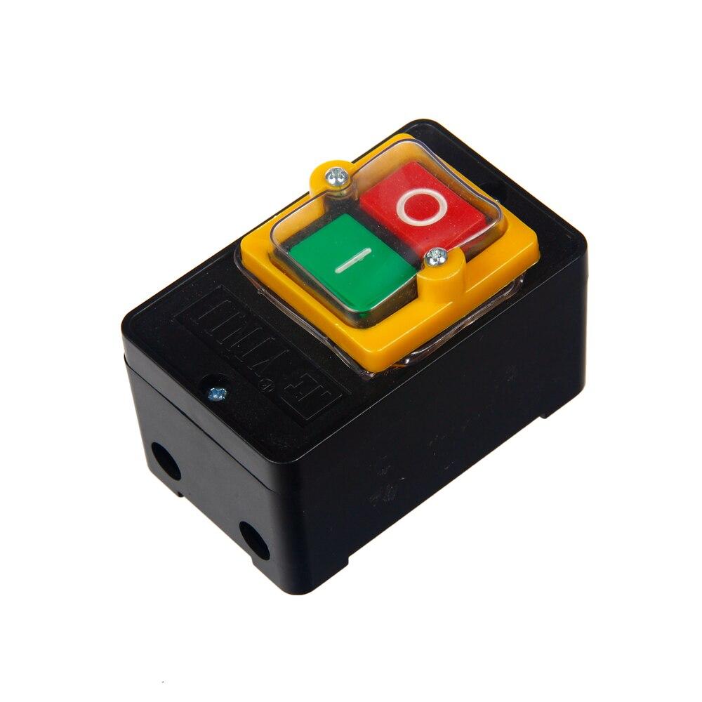 380v Waterproof Kao-5m Bsp210f-1b Switch On/off Control Push Button Plastic Bu0101 Latest Fashion Lights & Lighting Switches
