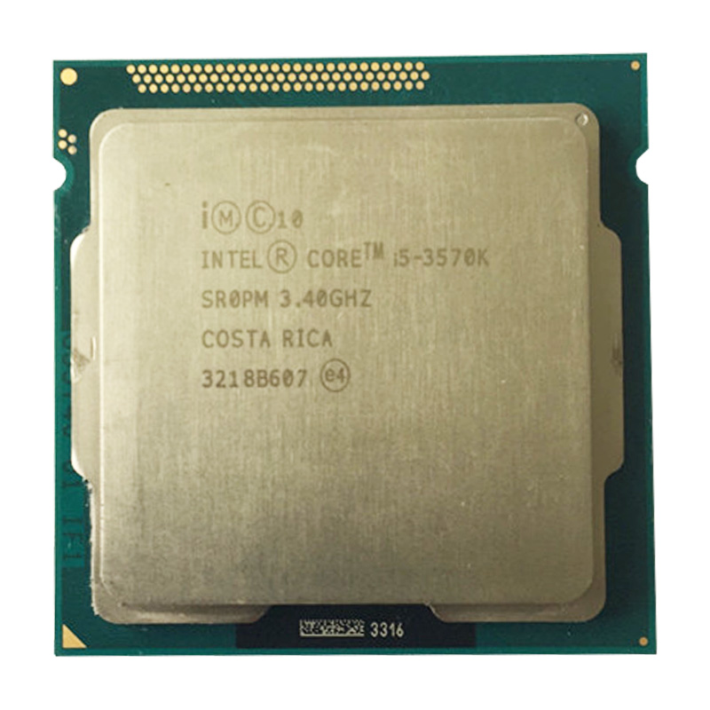 Intel Core i5-3570K 3.4 GHz Quad-Core CPU Processor 6M 77W LGA <font><b>1155</b></font> desktop Cpu image