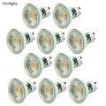 10 teile/los COB Lampe 7 Watt Dimmbare Led-strahler GU10 MR16 GU5.3 LED lampe Birnen 500lm für Home Dekorative 220 V COB Led-lampe