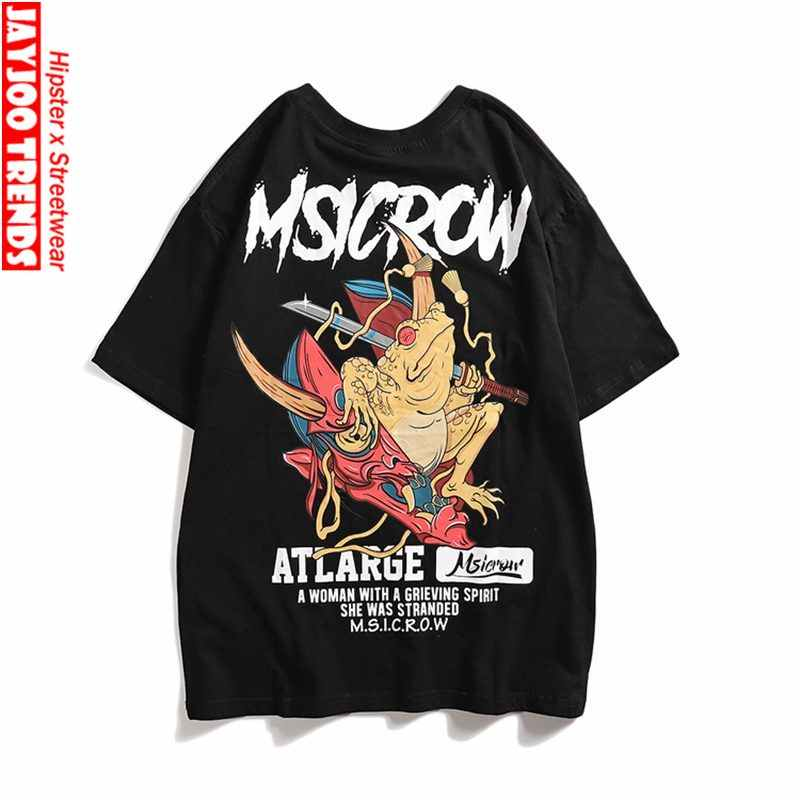41a0b85f Hip Hop Streetwear Men T Shirts 2019 Chinese Culture Design Tees T-shirts  for Teenagers