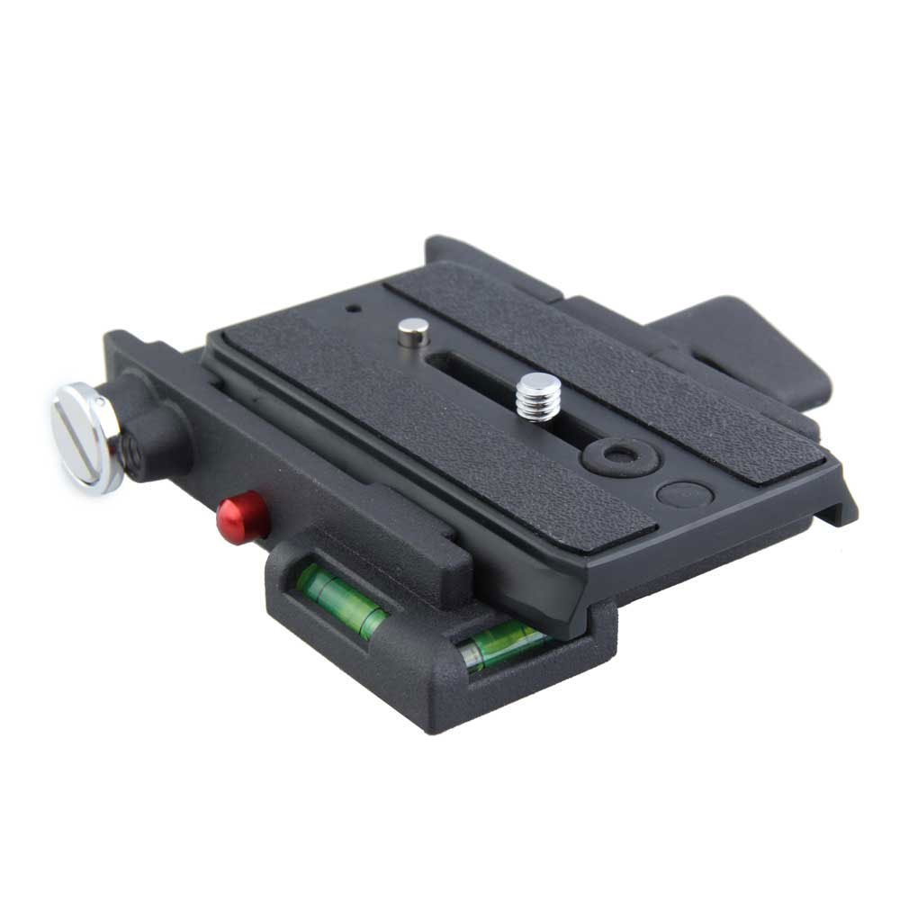 Quick Release Adapter with Short Sliding Plate Camera Mount For Giottos (Black)