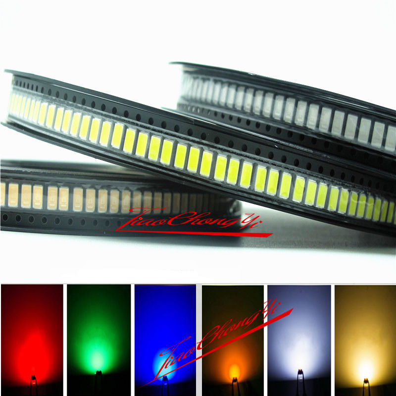 100pcs high power 0.5w 1/2w SMD CHIP 5630/5730 red green blue yellow uv led